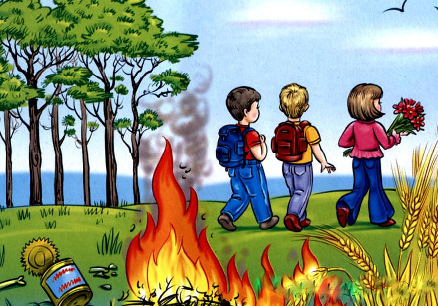 Днем марта, картинки про огонь и пожар для детей